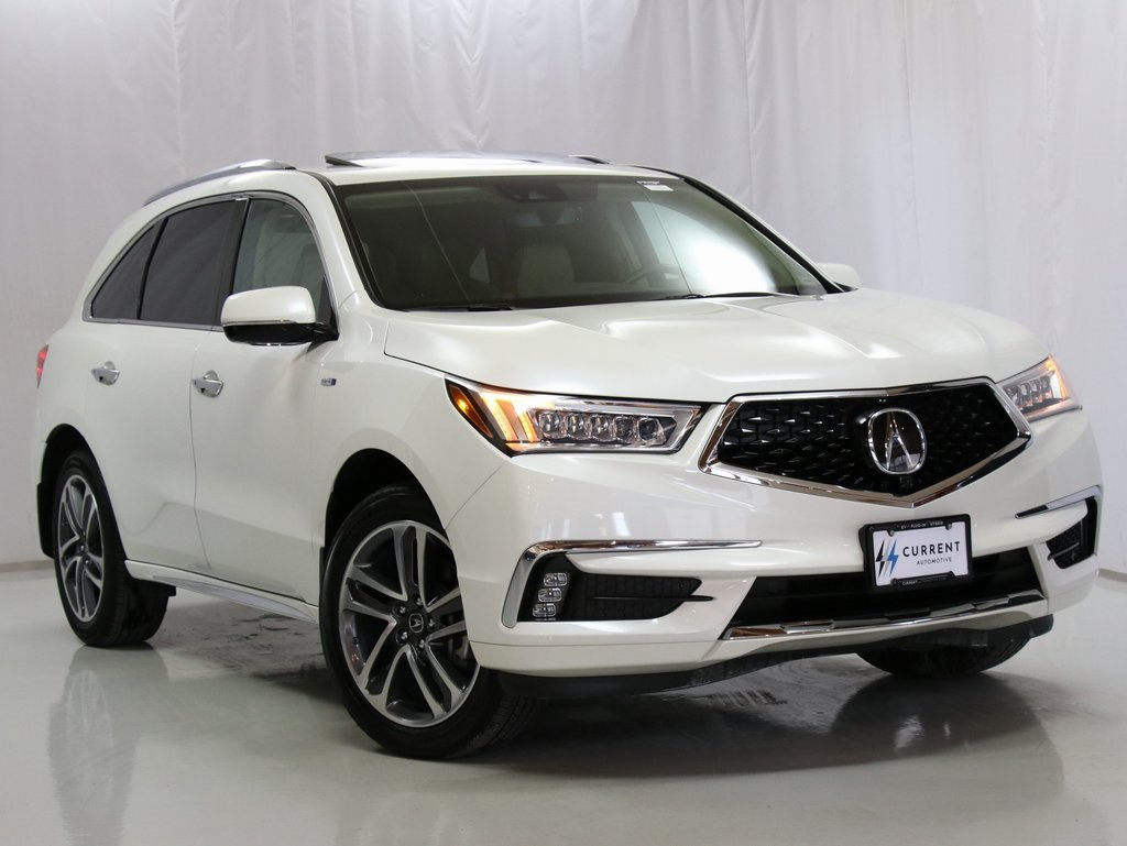 Pre Owned 2018 Acura Mdx Sport Hybrid Advanced 4d Sport Utility In