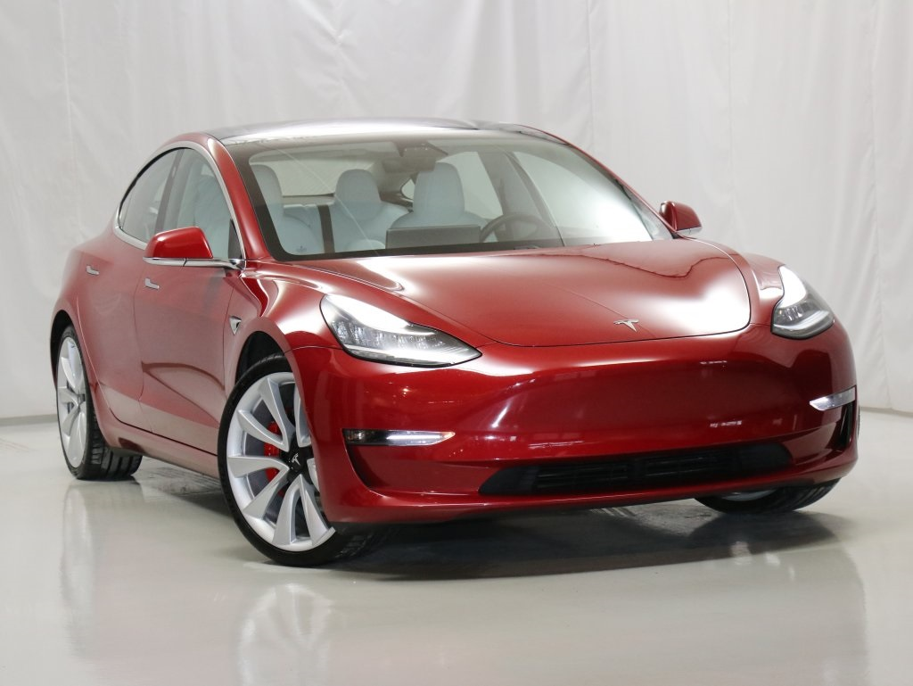 Pre-Owned 2018 Tesla Model 3 Performance AWD FSD